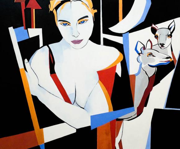 Diana, 2012 - 100x100